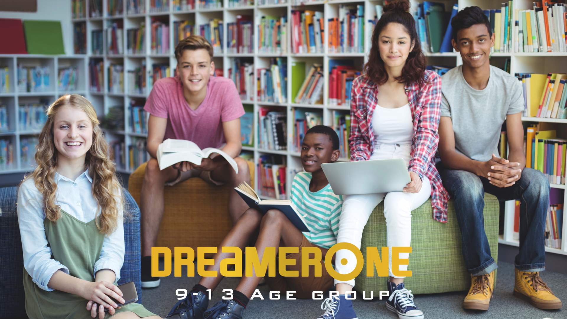 Banner DreamerOne Online Training 9-13 age group