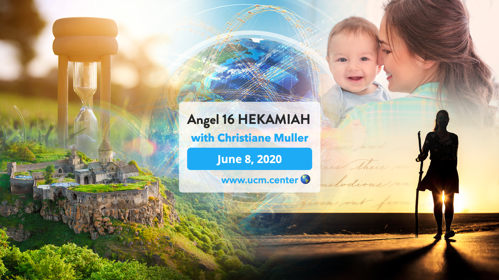 Banner online course with Christiane Muller - Angel 16 Hekamiah