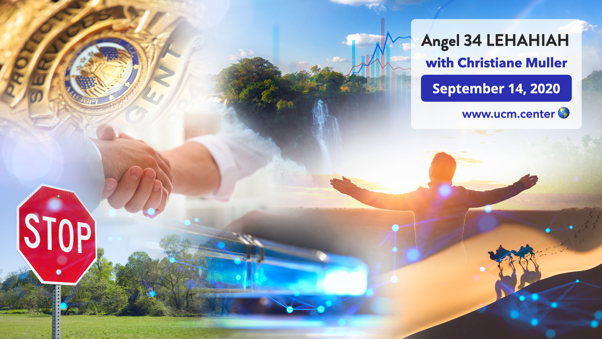 Banner online course with Christiane Muller - Angel 34 Lehahiah