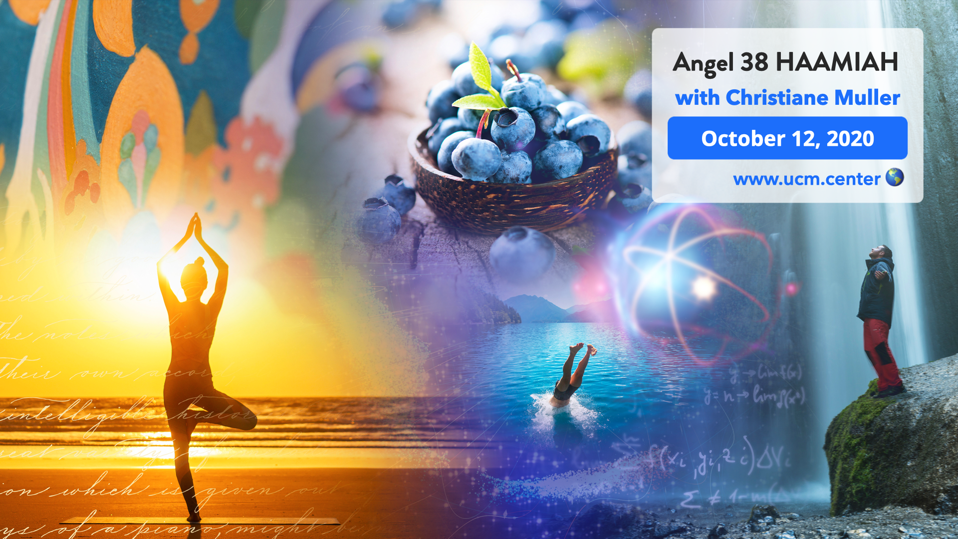 Banner online course with Christiane Muller - Angel 38 Haamiah