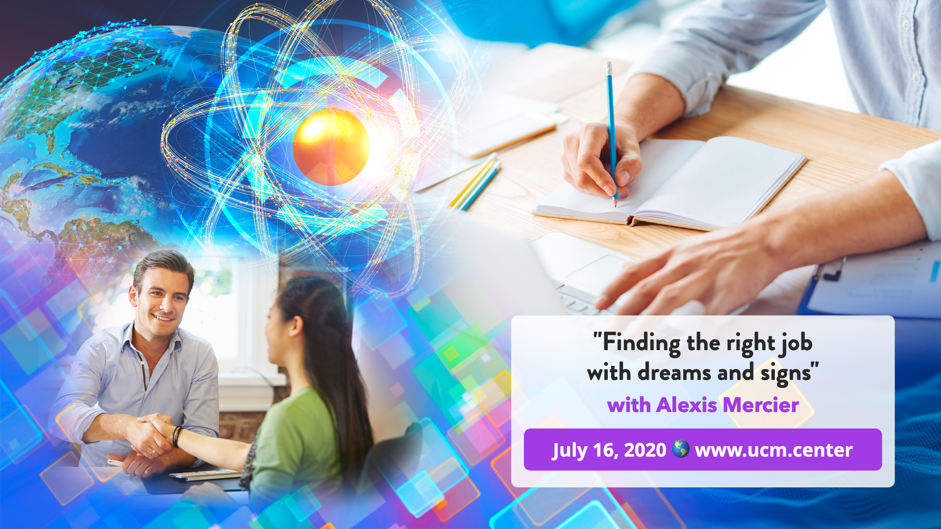 Banner web conference - Finding the right job with dreams and signs - Alexis Mercier