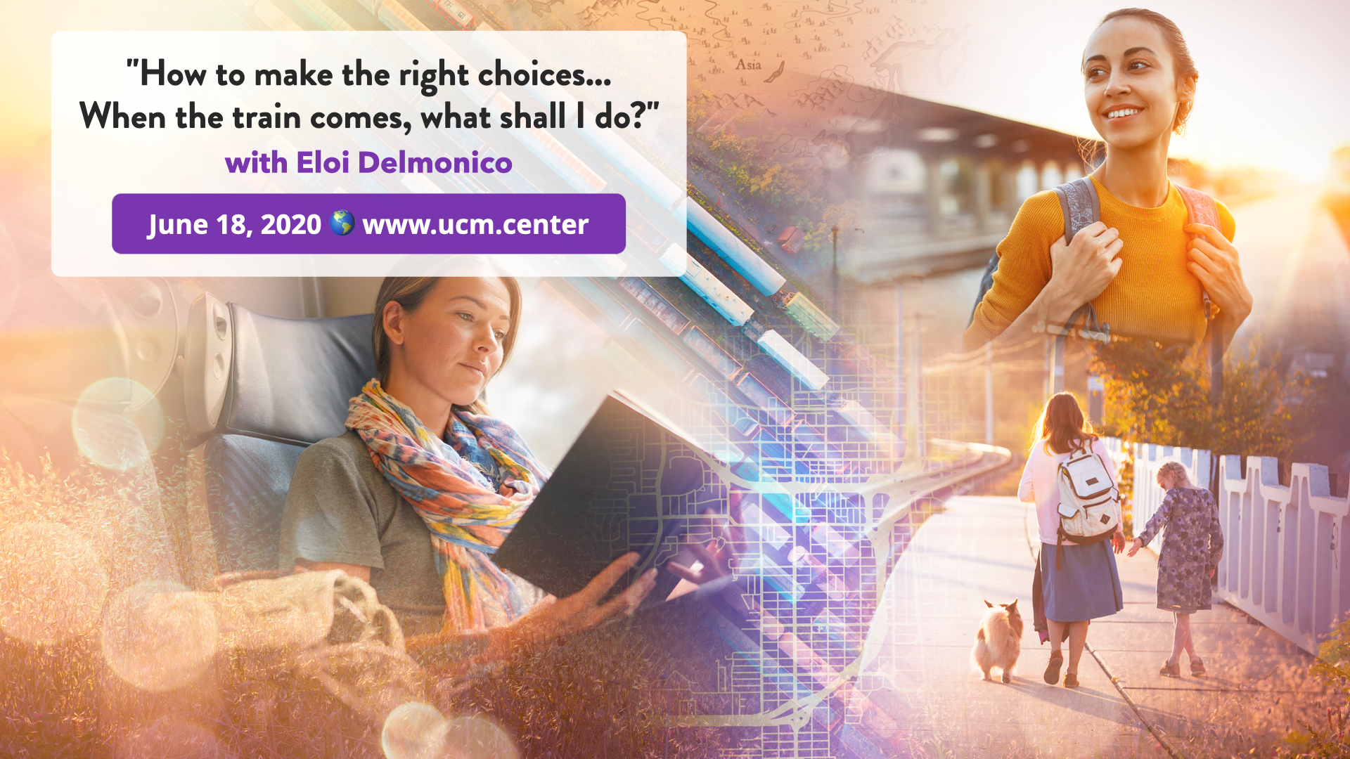 Banner web conference - How to make the right choices... When the train comes, what shall I do? - Eloi