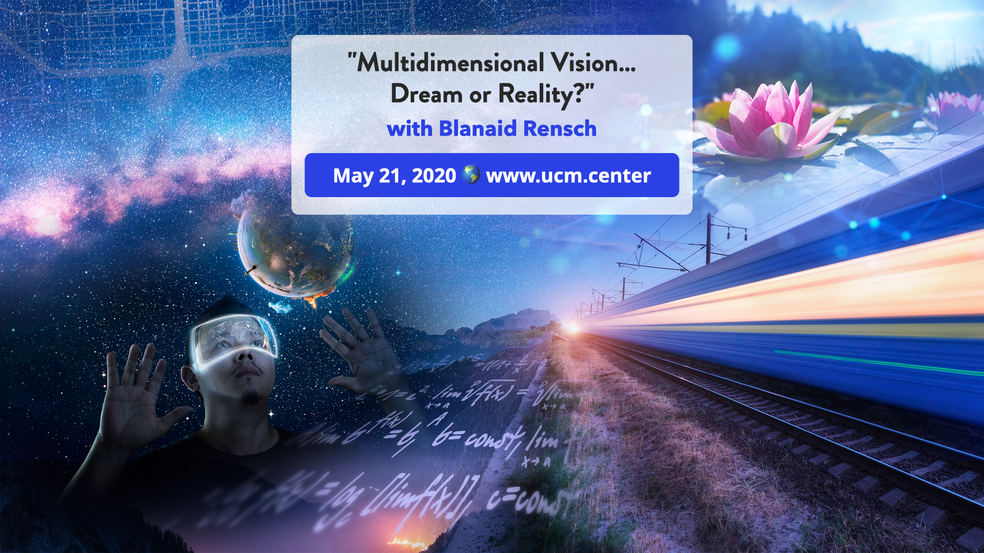 Banner web conference - Multidimensional Vision… Dream or Reality? - Blanaid Rensch