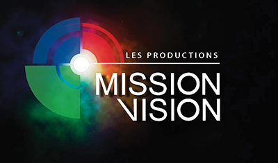 Logo Les Productions Mission Vision