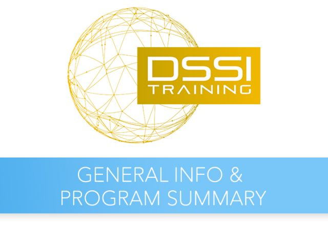 DSSI Training Course General info